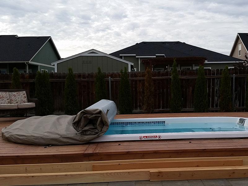 endless pool swim spa installation manual