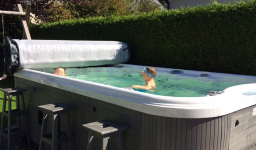 Swim Spas Are Great For The Whole Family