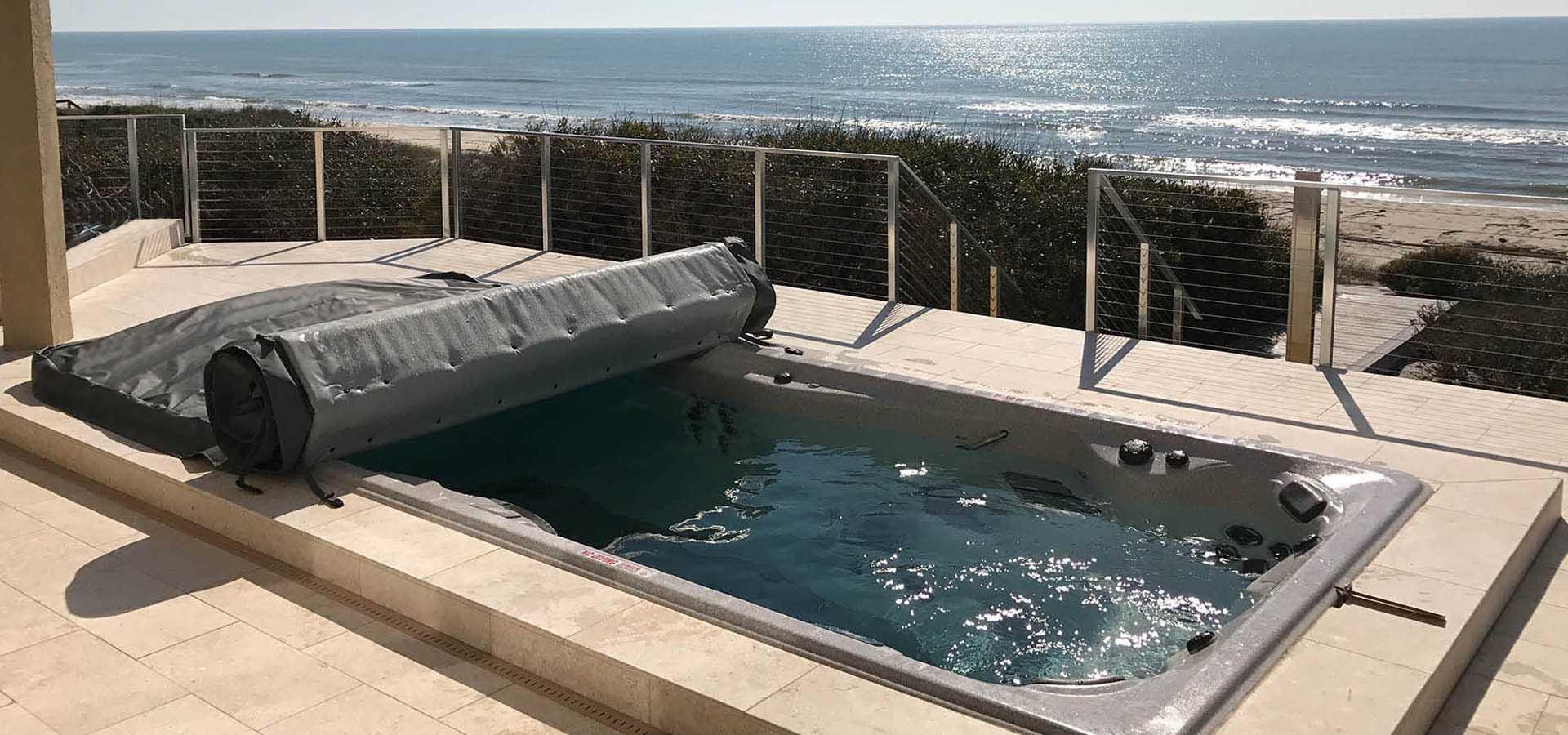 Swimming Pool Cover Repair : Swim spa covers endless pool hot