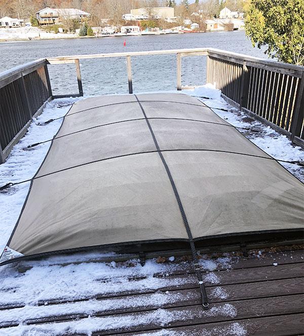 Winterizing Water Repellant Tarp